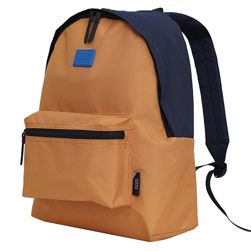 COTS Lightweight School Backpack for Teen Girls Boys (Yellow)