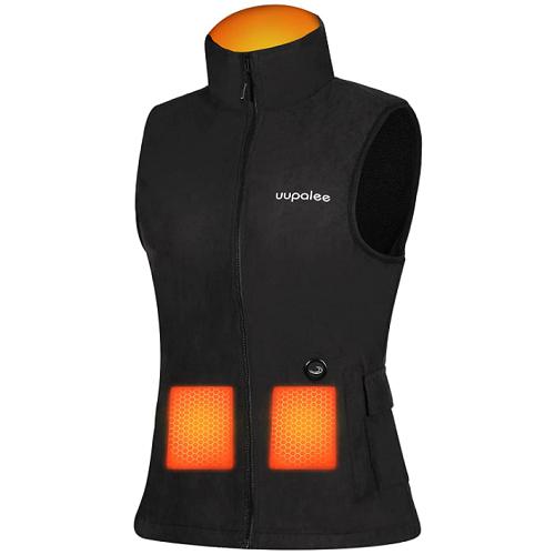 2021 uupalee Women's fleece heated vest (with battery) 50% off
