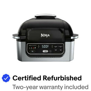 Ninja Foodi 5-in-1 Indoor Electric Countertop Grill with Air Fryer- AG302