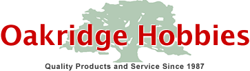 Oakridge Hobbies free shipping coupons