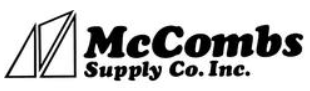 McCombs Supply free shipping coupons
