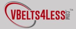 VBELTS4LESS promo code