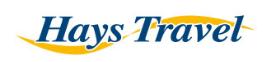 Hays Travel promo code