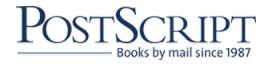 Postscript Books Discount Codes
