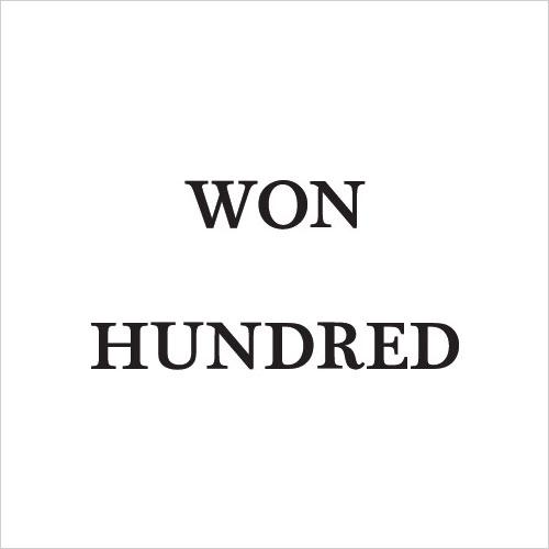 Won Hundred Promo Codes