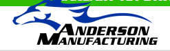 Anderson Manufacturing free shipping coupons