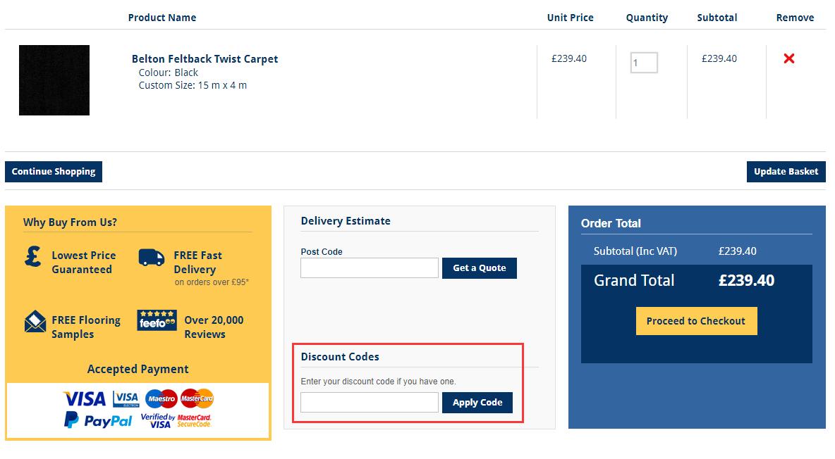 OnlineCarpets.co.uk Discount Code