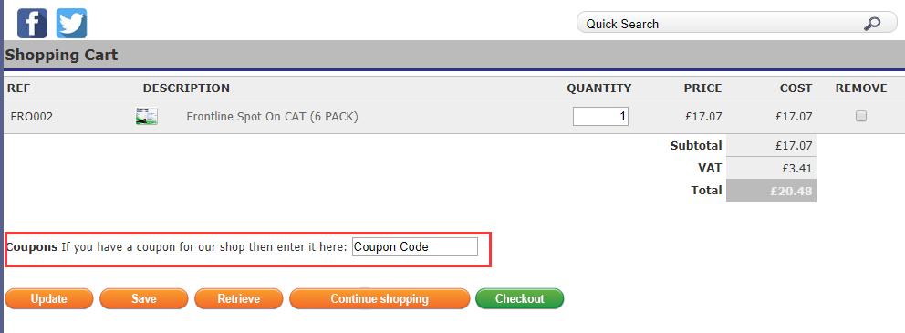 Petfleas Discount Code