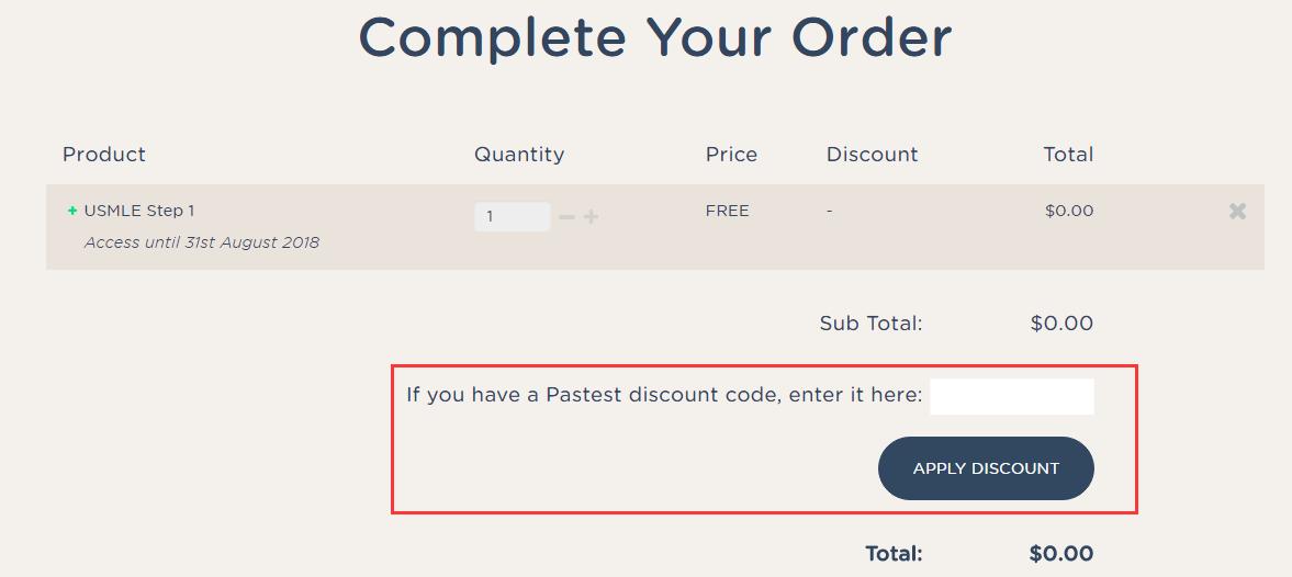 PasTest Discount Code