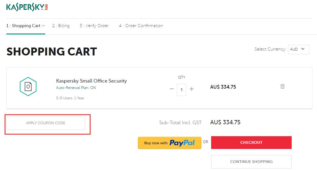 Kaspersky Australia Discount Code