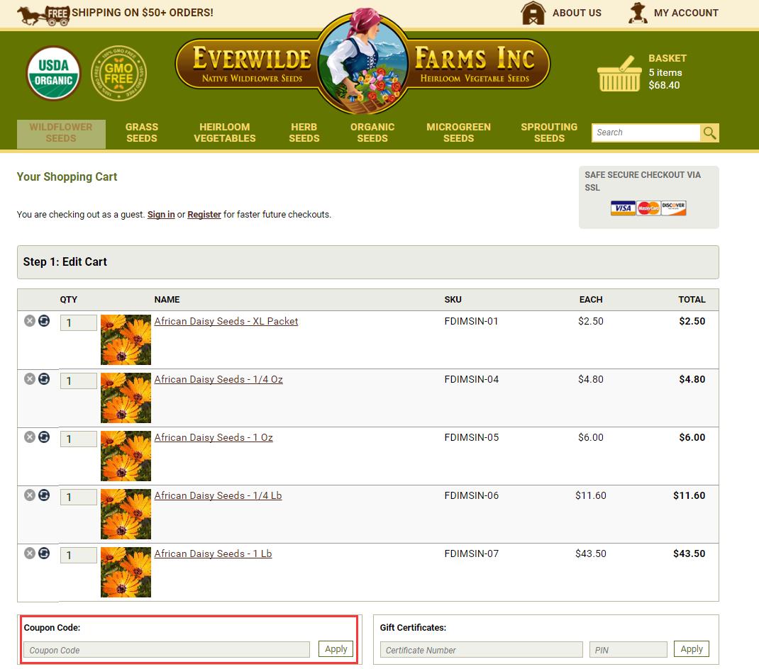 Everwilde Farms Promo Code