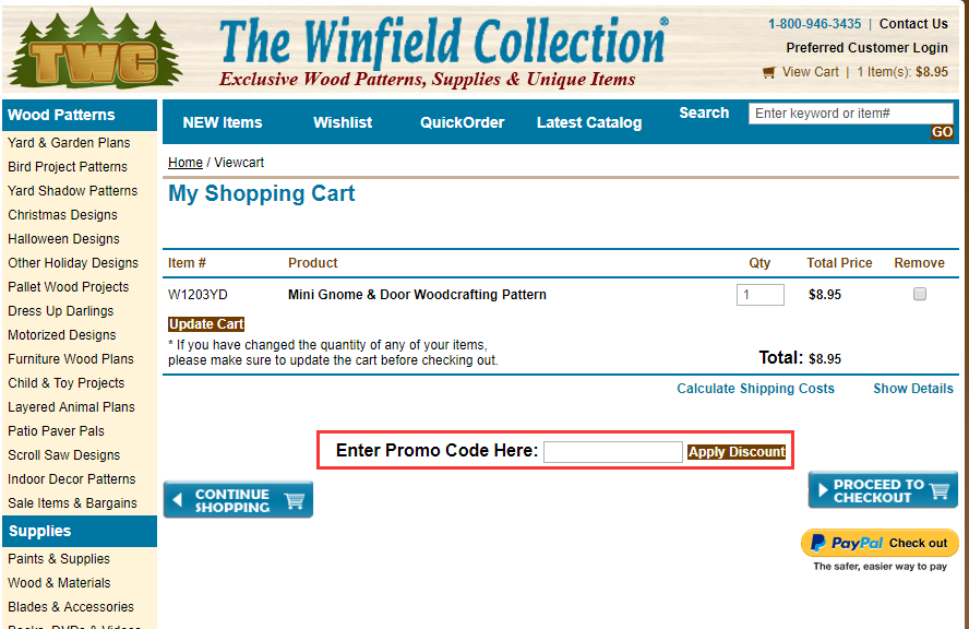 The Winfield Collection Promo Code