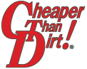 Cheaper Than Dirt promo codes