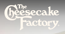 The Cheesecake Factory promo code