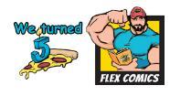 Flex Comics free shipping coupons