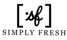 Simply Fresh Coupon Code