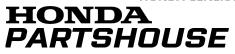 Honda Parts House free shipping coupons