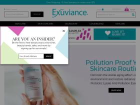 Exuviance free shipping coupons