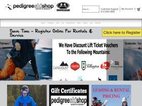 Pedigree Ski Shop Coupon