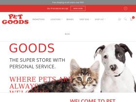 Pet Goods free shipping coupons