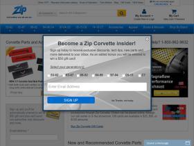 Zip Corvette Promo Code