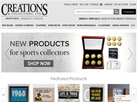 creationsandcollections.com Coupons