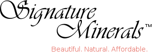 Signature Minerals free shipping coupons