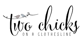 Two Chicks On A Clothesline