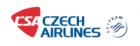 Czech Airlines black friday deals