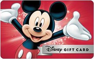 Disney Gift Card free shipping coupons