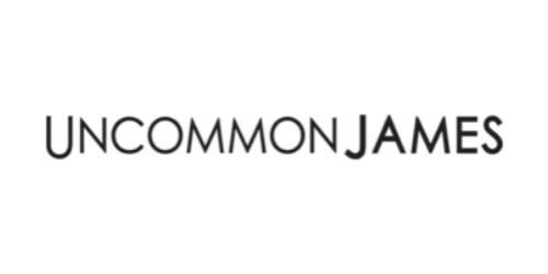 Uncommon James promo code