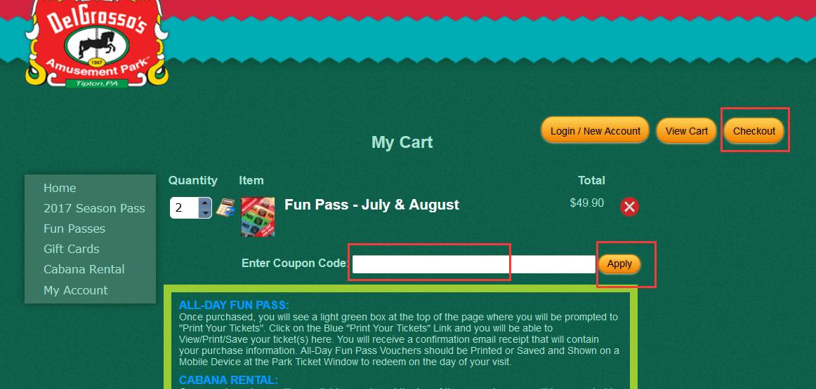 Delgrosso coupon code