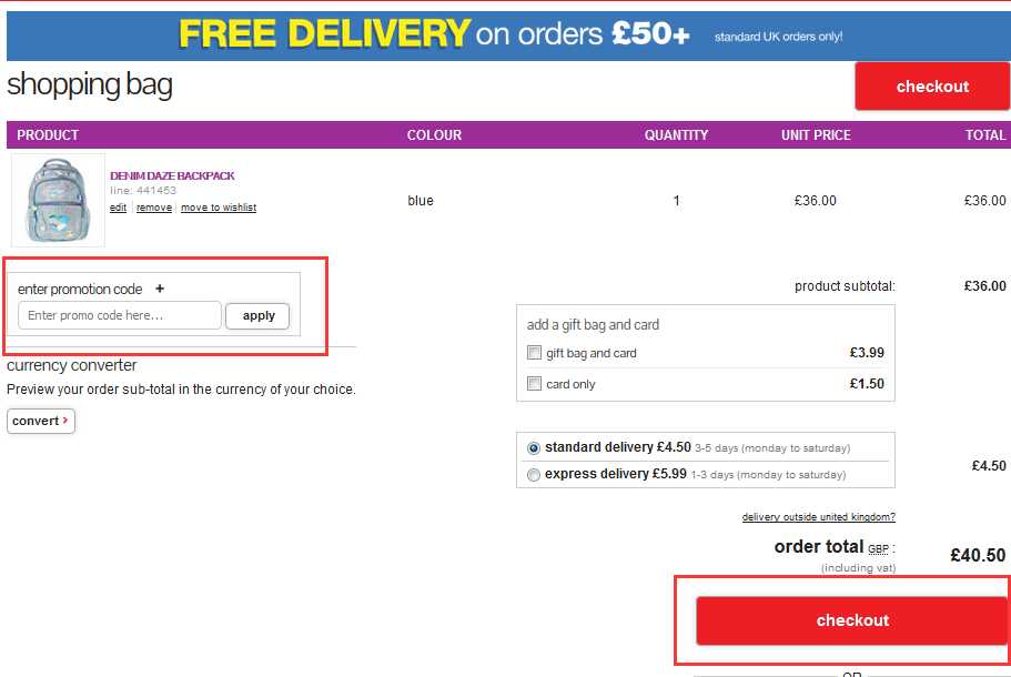 Take advantage of Smiggle Discount Codes & deals now! How to apply discount code? First, you pick up the item and add it to the shopping cart. Second, you select the discount code which can be applied to the item you choose. In other words, your item meets the application requirement of the discount code.
