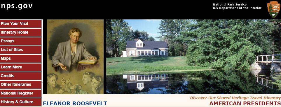 Eleanor Roosevelt's house Val-Kil